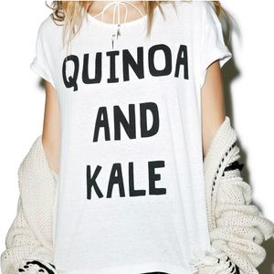MINKPINK 'Quinoa and Kale' Tee